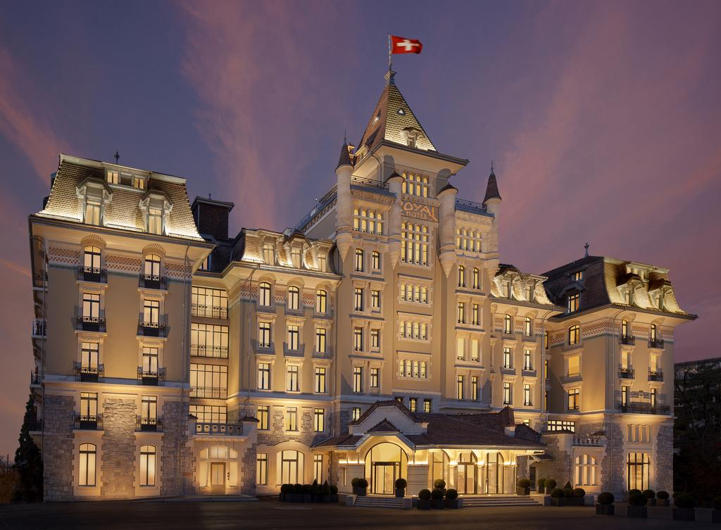Royal Savoy Hotel and Spa Lausanne  Preferred LVX Collection